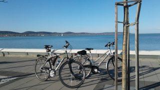 Balatoni bicikliút - kerékpárral a Balaton körül